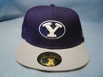 96f607b4a8c NWT BRIGHAM YOUNG Byu Cougars Hat Cap Fitted 7 Lid Zephyr New Cougs ...