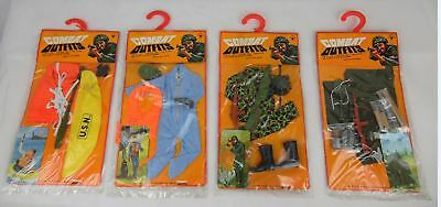 Komplettes G. I. Joe / Fighting Yank / Mr. Action Combat Outfit SET! (12 Stück)