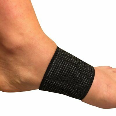 Plantar Fasciitis Arch Support Sleeve | Copper Infused Foot Compression | Pair