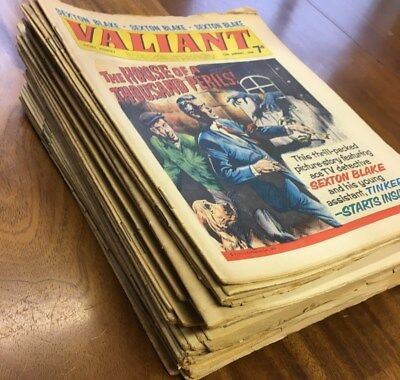 Valiant 1968 to 1970 (60+ Comics listed below)