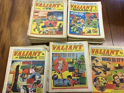 Valiant Comics from 1971 (42 issues plus duplicates listed below)
