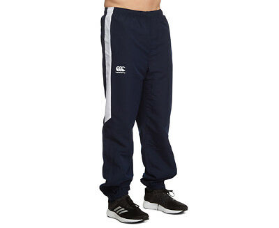Canterbury Men's Team Side Panel Trackpant - Navy/White
