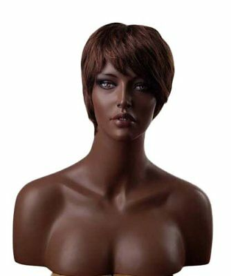 "18"" Tall Ethnic Realistic Female Mannequin Head, Made of Fiberglass (h3)"