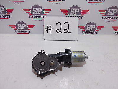 Toyota Venza 2009 2010 2011 2012 LH front left driver side seat motor