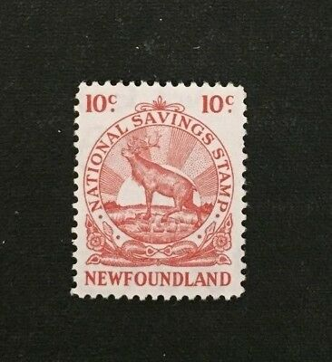 Newfoundland Stamp National Savings MNH