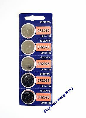 New Sony CR2025 2025 3V cell coin button battery for watch x5 pcs