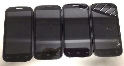 4 Lot Alcatel One Touch Pop C5 5037E GSM For Parts Repair Used Wholesale As Is