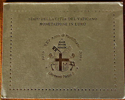 Coffret  -VIDE  - 7 pieces euros Vatican 2003