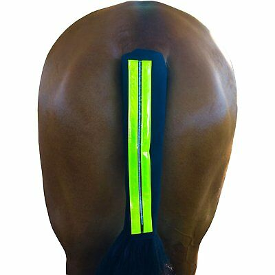 Equisafety Rechargeable Led Reflective Unisex Horse Care Tail Guard - Yellow