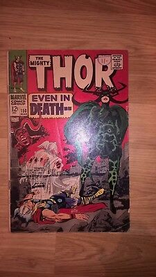 Thor issue 150 Hela Ragnarok Movie Marvel Silver Age Comic March 1968 Inhumans