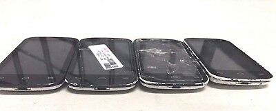 4 Lot Alcatel One Touch Pop C3 4033E GSM For Parts Repair Used Wholesale As Is