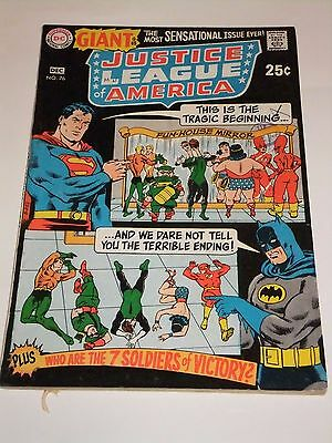 DC Comic Justice League of America Giant Issue 76 December 1969