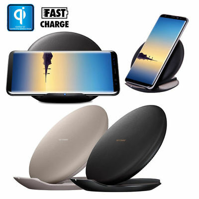 Samsung Galaxy S8 S8 Plus 15W Qi Fast Rapid Wireless Charger Convertible Stand