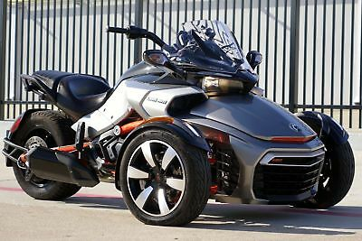 Can-Am Spyder F3 SM6  2015 1-Owner F3-S * SPORT * Like New! * TEXAS * Only 900 Miles! * FOX SHOCKS *