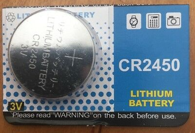 CR2450 Tiantan 3V LITHIUM REMOTE KEY FOB COIN Authorized seller.