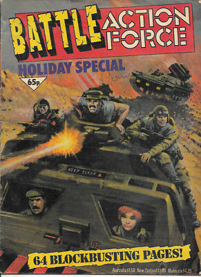 Battle Holiday Special 1986(very high grade) Charley's War, Rat Pack, Johnny Red