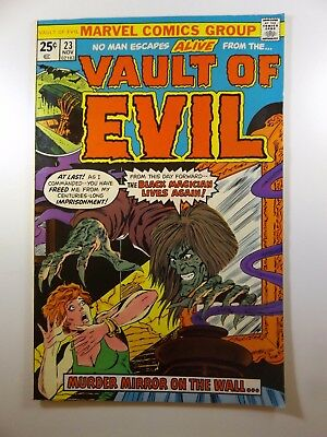 """Vault of Evil #23 """"Murder Mirror On the Wall!"""" VF/VF+ Condition!!"""