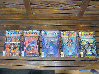 Star Wars Tales of the Jedi The Fall Of The Sith Empire 1-5 Comic Book Lot