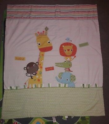 Baby 4 tog duvet from age 1! for toddler bed or cot bed! colourful jungle. NEXT!