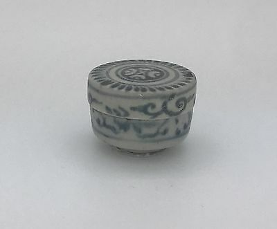 HOI AN HOARD Small Cylinder #240372, Recovered Shipwreck Box c1480