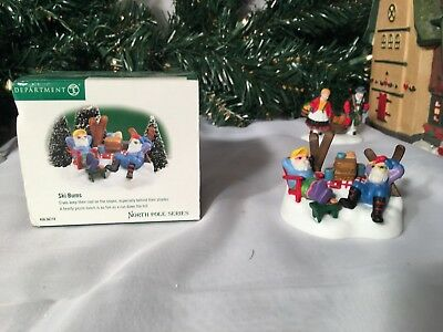 New Department 56 North Pole Series Ski Bums #56.56710 Accessory