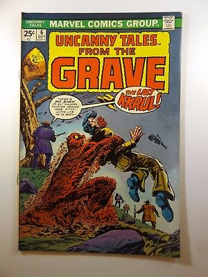 """Uncanny Tales from the Grave #6 """"The Last Krull!""""  VF-NM Condition!! HTF!!"""