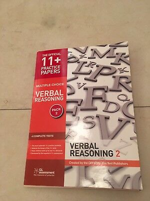 GL Assessment Official 11+ Practice Papers Verbal Reasoning Pack 2