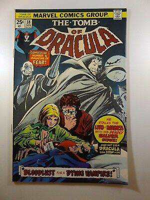 """The Tomb of Dracula #38 """"Blood-Rush!"""" VF Condition!!"""