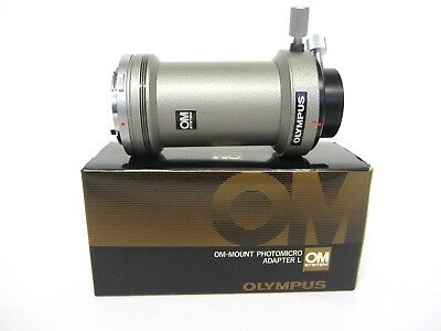 Olympus OM mount photomicro adapter L, micro photo adapter for OM system cameras