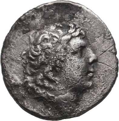 Kings of Cappadocia, Ariarathes IV AR Drachm. Circa 220-163 BC.