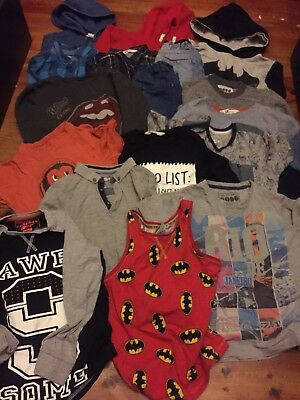 boys clothes bundle 6-7 years Ralph, H&M, Batman,