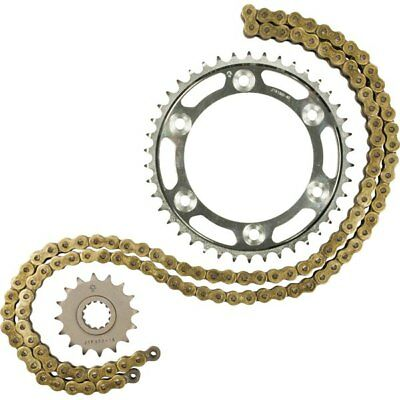 Gold/Black Sz 18 Tooth/46 Tooth/116 Links JT Sprockets 530Z1R Chain And Sprocket