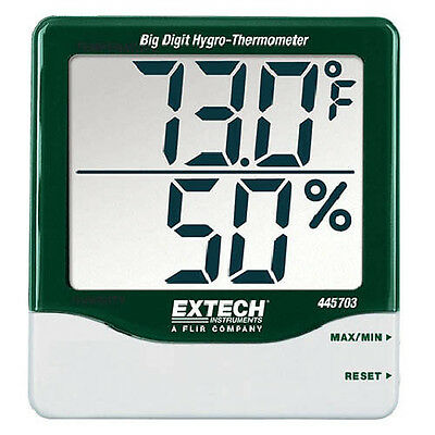 Extech 445703 Indicator RH/Temp Big Digit