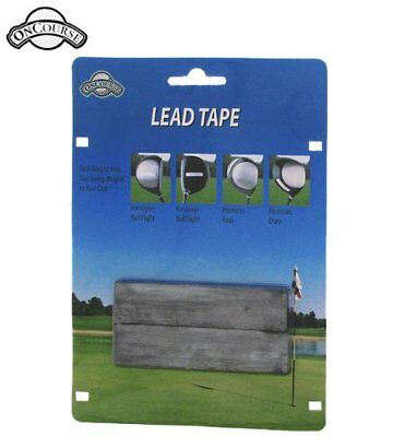 On Course Lead Tape Strips Lead Tape New