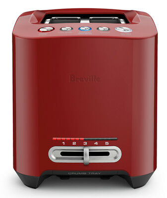 Breville the Smart Toast - Cranberry - BTA830CRN * End of Line *