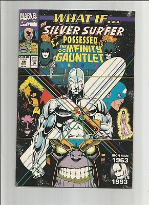 What If...? #49 (May 1993, Marvel) Silver Surfer Possessed the Infinity Guantlet