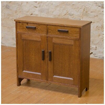 Arthur W Simpson (The Handicrafts, Kendal) Arts & Crafts Oak Cabinet