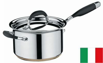 Essteele Australis - Saucepan with Lid 20cm 3.8Ltr (Made in Italy)