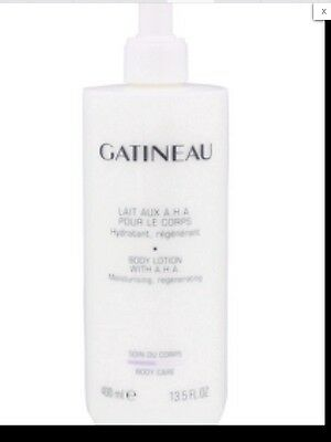 Super Size 400 ml GATINEAU AHA Body Lotion  - Brand New. Post Included RRP £34