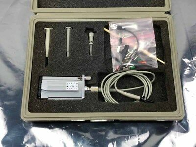 HP 54001A 1GHz Miniature Active Probe 1.5M w/ Case & Accessories