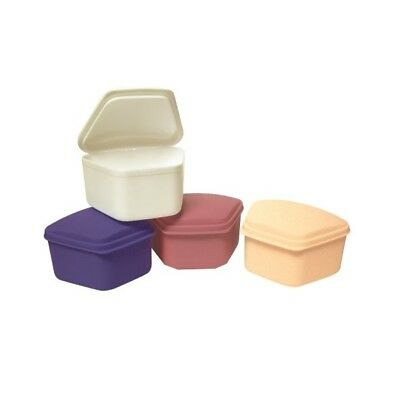 Defend Defend Denture Boxes 12/Count Assorted Colors OB-1000
