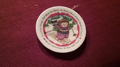 Enesco lucy and me merry Christmas to you and yours small plate