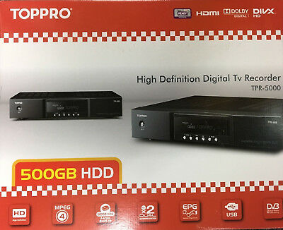 TOPPRO by TOPFIELD TPR-5000  PVR Digital TV QUAD Recorder