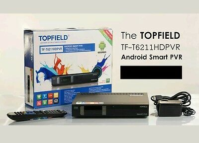 Topfield TF-T6211 Android smart personal video recorder - 500GB with WIFI dongle