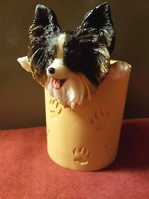 New! Papillon Pencil Cup Holder.