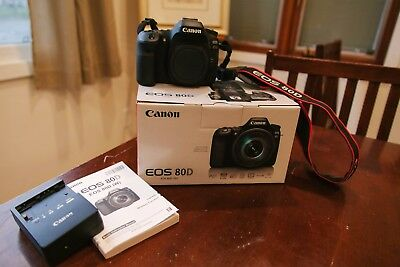 Canon EOS 80D 24.2MP Digital SLR Camera (Body Only) With Accident Protection
