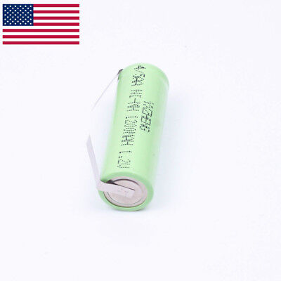 42 x 14mm 1.2V 4/5AA Braun Oral-B Triumph Battery 1200mAh Ni-MH tabs 2pcs