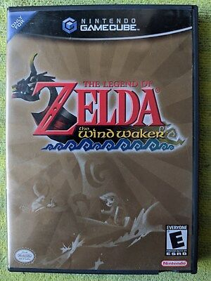 Legend of Zelda: The Wind Waker (Nintendo GameCube, 2003) Disc and case no manua