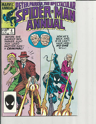 Peter Parker the Spectacular Spiderman Annual 4 (Marvel) 1984