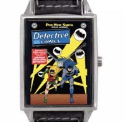 NEW BATMAN Detective Comics Classic Comic Book image Cover strap Watch Accutime